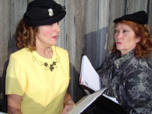 Joyce Napoletano and Annie Horton