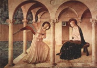 Fra Angelico The Annunciation 1437-1446