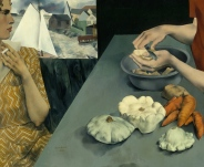 Peter Blume's Vegetable Dinner, 1927