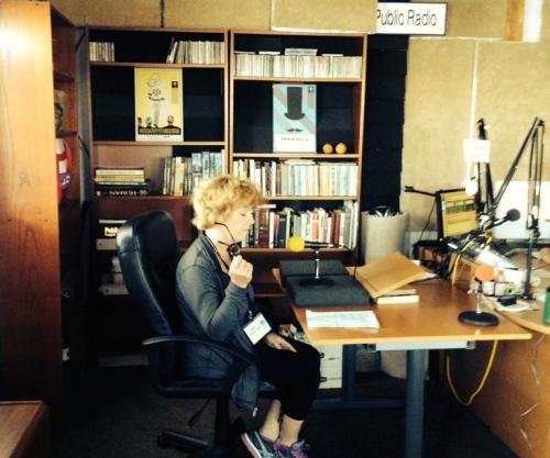 WAIR NILA MFA Mary Bolen-Doyle Summer 2014 in WhidbeyAir Studio